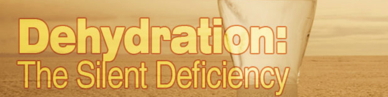 Dehydration and energy