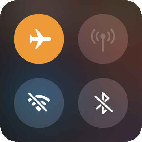 emf protection airplane mode health indoors